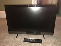 """Sony KDL26EX320 26"""" LED TV with Wi-Fi & Freeview Tuners, Second hand, SOLD AS SEEN"""