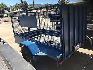 1 X 8X5 TRAILER - 1 X MAN /DRIVER. = COST EFFECTIVE MOVING.. Burnside Area Preview