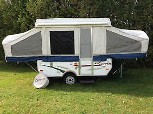 Rental Pop Up Tent Trailer