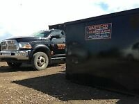 IF ITS GOT TO GO - CALL WASTE CO - FOR ALL YOUR DISPOSAL NEEDS