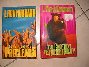 SCIENTOLOGY BOOKS, Volumes, cd, tapes