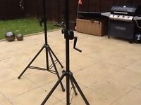 Disco speaker/band stands