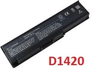 Batterie portable DELL D1420/D620 4400mAh/7800mah laptop battery