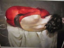 "Robert Lenkiewicz Limited edition print entitled ""Esther Rear View"""