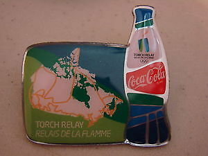 2010 Vancouver Olympic Torch Relay Pin Cornwall Ontario image 1