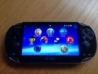 ps vita for sale no scratches and in good working condition comes with charger and case