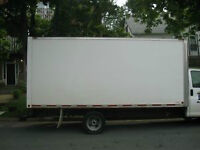 MOVING ? 1 TON TRUCK-16 Ft - WITH 2  EXPERIENCED MOVERS
