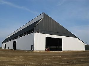 Large, Secure Building for Fleet Vehicles/ Ag Equipment Storage