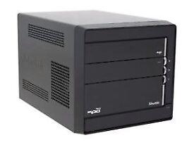 Shuttle Custom PC QUAD Q6700 2.66GHz 8GB 500GB SSHD Oasis Vertex V.1.5 Win 10