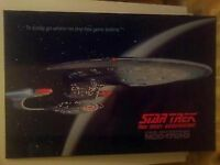 STAR TREK WALL PLAQUE MOVIE MOUNTED POSTER USS ENTERPRISE