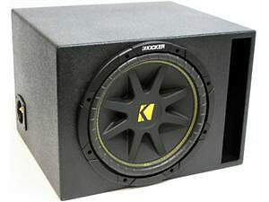KICKER SUB AND BOX COMBO (BRAND NEW)