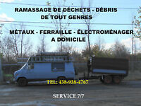 RECYCLAGE RAMASSAGE RECUPERATION ELECTROMENAGERS USAGER 7/7