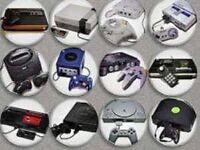 WANTED retro games & consoles joblots sega Nintendo Atari