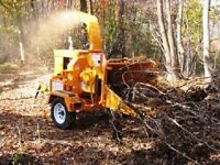 J bunz forestry Winter discount  woodchipping/tree service