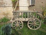 Leiterwagen Holz