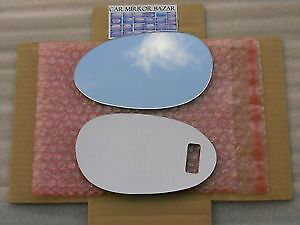 542LF 05-06 SMART FORTWO FOR TWO Mirror Glass Left Side Driver L