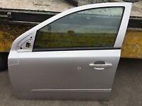 Astra Mk 5 Passenger door Silver No Glass