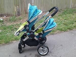 Icandy peach  double stroller London Ontario image 1