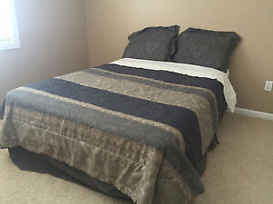 Lightly Used Double Bed!