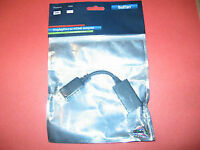 DISPLAY PORT TO HDMI CABLE ADAPTERS - (NEW)