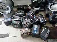 MAJOR VARIETY OF USED BATTERIES TOP AND SIDE !!!!!!!!
