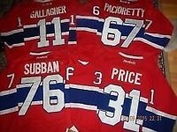 *** BRAND NEW -  MONTREAL CANADIENS - $60ea. - from M up to XXXL