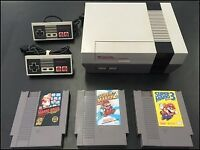 NES and 3 games