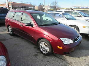 2006 Ford Focus ZXW Wagon March MVI 170 kms loaded $2250.00