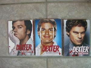 Dexter - DVD Sets - Seasons 1,2 & 3 - Mint