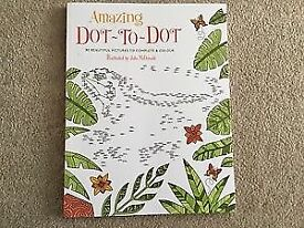 Amazing Dot To Dot by Jake McDonald 80 beautiful pictures to complete colour BN