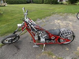 occ black widow chopper 110cc 4 stroke