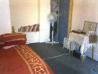 Studio located in quiet location close to West Kensington and Barons Court underground Stations