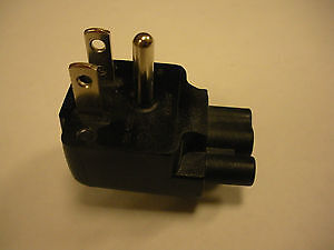 Volex Dell DL515RP 3-Prong Direct to Wall Duckhead Plug Adapter