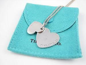 3090c4a5a Tiffany Double Heart Necklaces