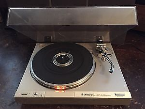 Vintage Kenwood KD 3100 Direct-drive Turntable