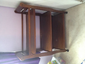 Graco chestnut brown changing table