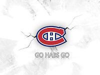Canadiens vs Islanders Tonight !! Club Below Cost!!!!