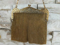 ANTIQUE: BEAUTIFUL GERMAN SILVER MESH PURSE  Something OLD some