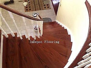 TORONTO Hardwood Laminate Engineered flooring Wood Stair Tread