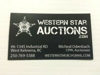 Storage locker auctions Wed July 8th 6pm