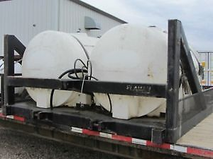 Tanks on 3 Point Hitch Frame
