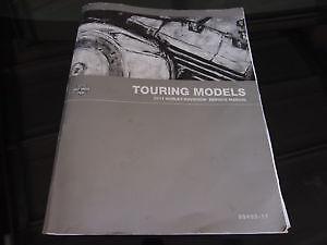 Harley Davidson Service Manual for 2012 Touring Models