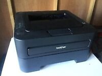 Brother HL-2250DN Workgroup Laser Printer with 2 new full toners