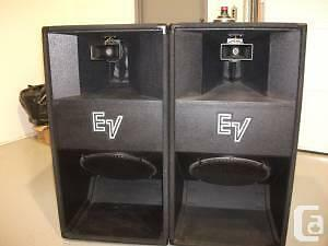 Ev electro voice speakers cerwin vega wanted