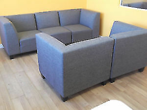 SPECIAL! 5 PC MODULAR GREY COUCH & LOVESEAT - USED 3 WEEK London Ontario image 3