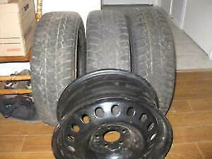 3 Good Matching Snow Tires  - 195x65x15 - $50 Cash For The 3