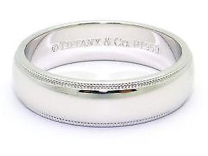 Mens Tiffany Platinum Wedding Band