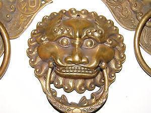 Br Lion Door Knockers