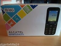 BRAND NEW SEALED ALCATEL ONE TOUCH IN VOLCANO BLACK .#####