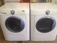 Frigidaire Eurodesign washer and dryer